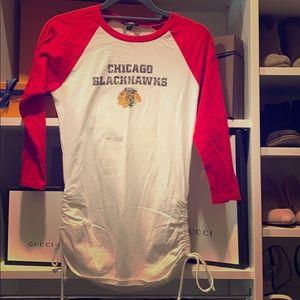 Touch Chicago Blackhawks 3/4 Sleeve